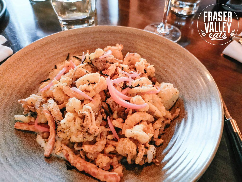 S+L Kitchen & Bar Crispy Calamari appetizer
