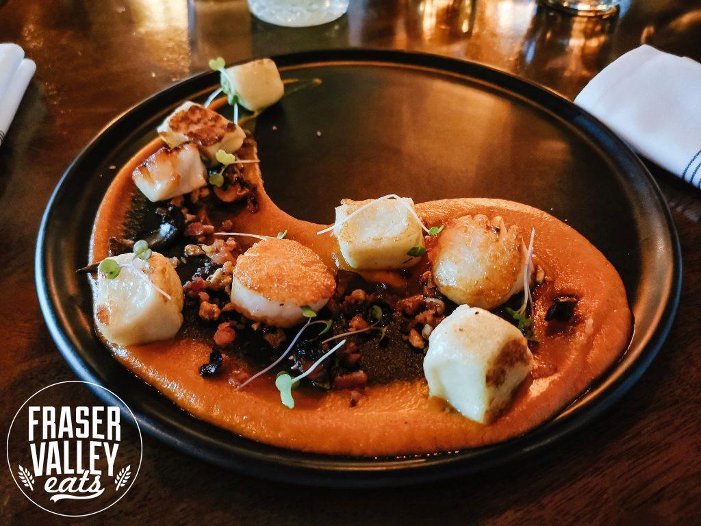 Pan Seared Scallops at S+L Kitchen & Bar